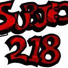 Subject 218 Titlecard by zuperbuuworks