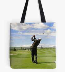 Golf Swing F Tote Bag