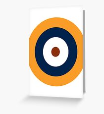 British Roundel WW2 Greeting Card