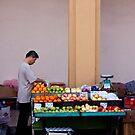 Fruit Seller, Penang, Malaysia by Ashlee Betteridge