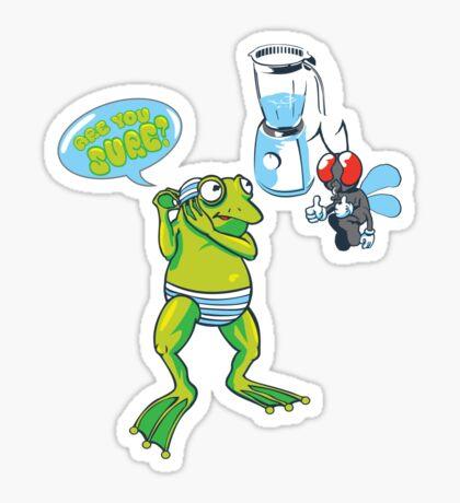Swim!!!! Sticker