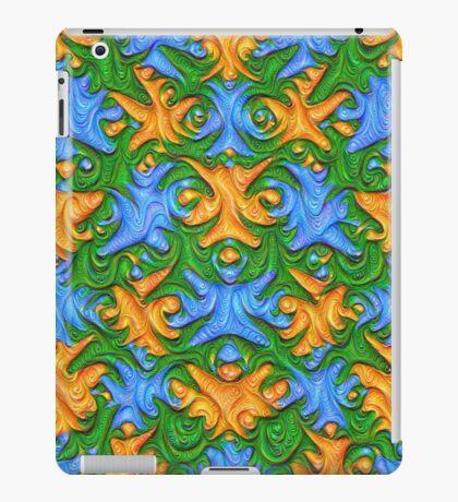 Frozen chanterelles #DeepDream #Art iPad Case/Skin