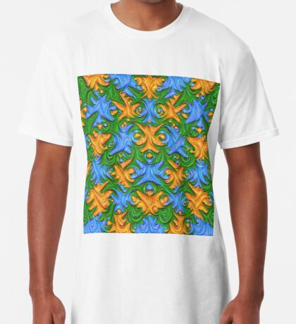 Frozen chanterelles #DeepDream #Art Long T-Shirt