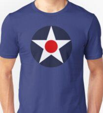 Vereinigte Staaten Roundel WW2 Unisex T-Shirt
