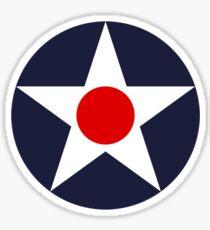 United States Roundel WW2 Sticker