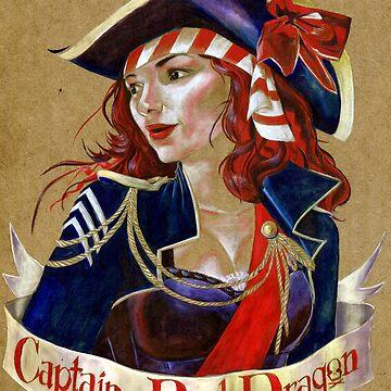 Captain Red Dragon by lexxie