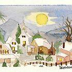 Christmas post-card #4 by Kostas Koutsoukanidis