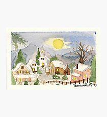 Christmas post-card #4 Photographic Print