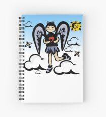 Angelique Spiral Notebook