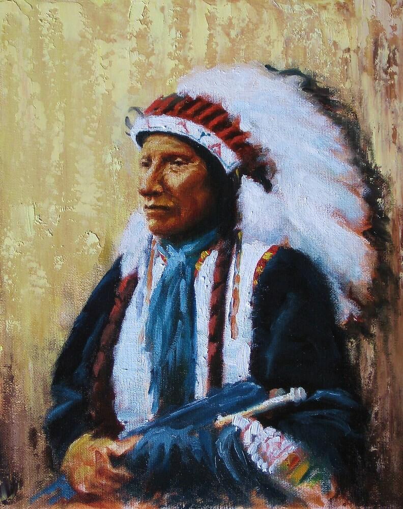 Chief Black Bear by Howard Searchfield
