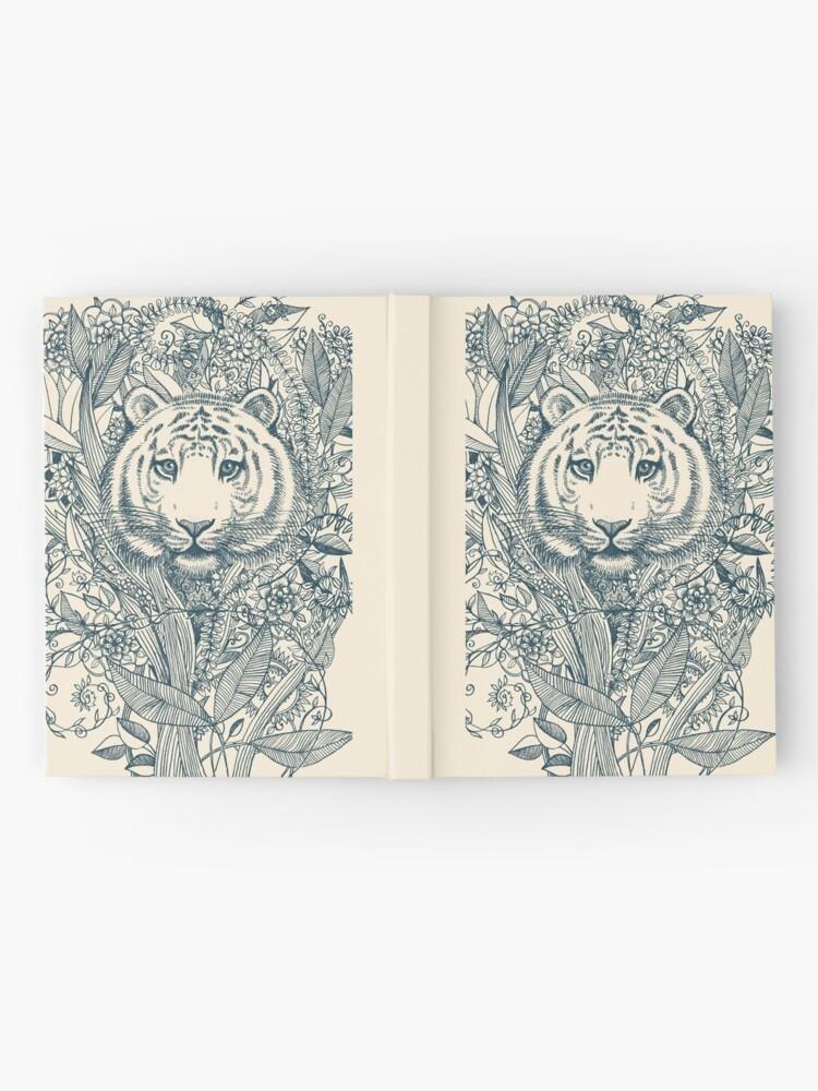 Alternative Ansicht von Tiger Tangle Notizbuch
