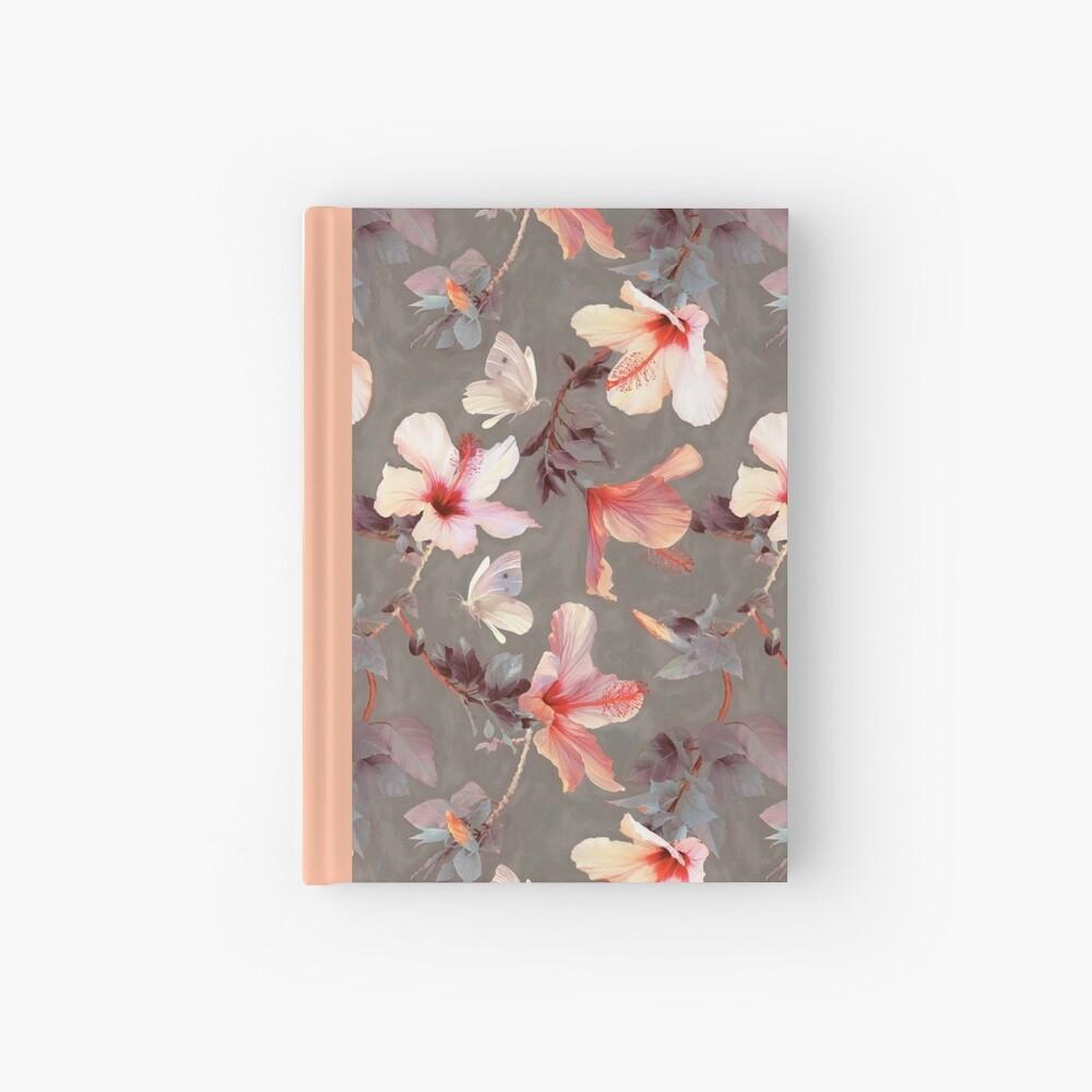 Hibisco coralino Cuaderno de tapa dura