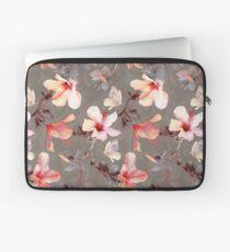 Coral Hibiscus Laptop Sleeve
