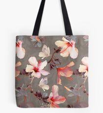 Korallen Hibiskus Tote Bag