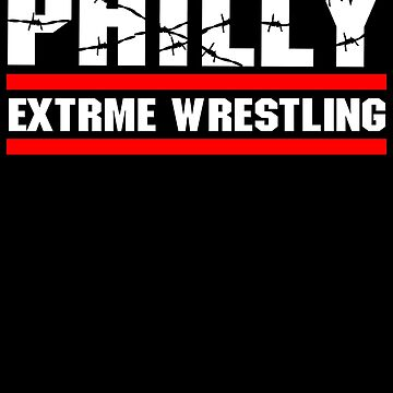 ECW Philly extreme wrestling T shirt by DannyDouglas96