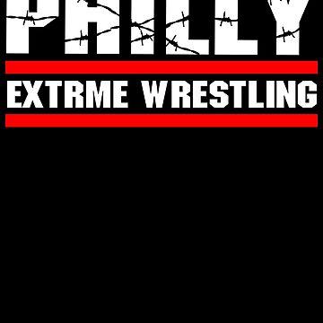 ECW Philly extreme wrestling T shirt by DannyDouglas96