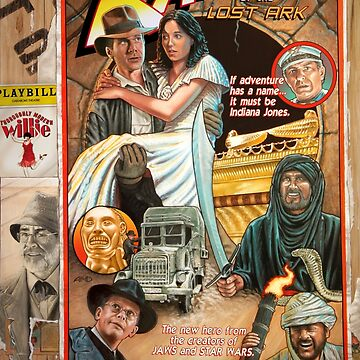Raiders of the Lost Ark by amcdanny