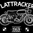 Flat Trackers (white) by Chris Jackson