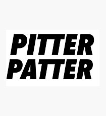 Pitter Patter Photographic Print