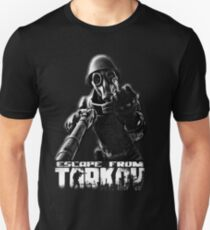 "Escape from Tarkov ""This is for you"" Black Slim Fit T-Shirt"