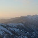 Winter Sunset on Mount Hotham by wilsonsz