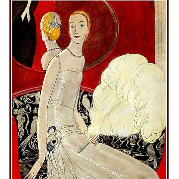 VOGUE: Vintage Autumn 1922 Magazine Advertising Print von posterbobs
