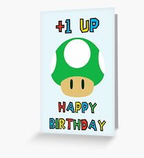 Happy Birthday - one UP Greeting Card