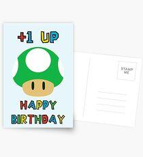 Alles Gute zum Geburtstag - ein UP Postkarten