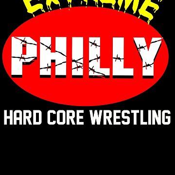 ECW Philly Extreme T - Shirt by DannyDouglas96