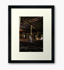 Communal Room - Abandoned Woogaroo Mental Asylum Framed Print
