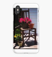 Container Garden Themed Photography iPhone Case/Skin