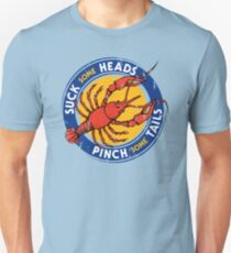 Suck Heads Pinch Tails - Distressed T-Shirt