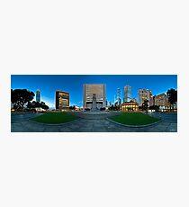Statue Square, Hong Kong - 360 Panoramic Photographic Print