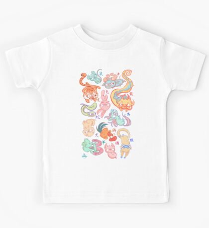 Chinese Animals of the Year Kids Clothes