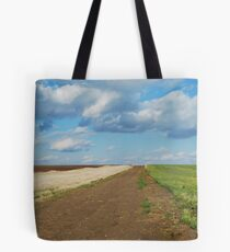 Of Wheat and Sky in Kansas Tote Bag