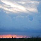 Stormy Kansas Sunset Sky  by Suz Garten