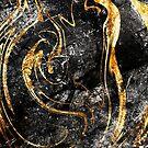 Goldene Marmor-Raserei von fbcstudios