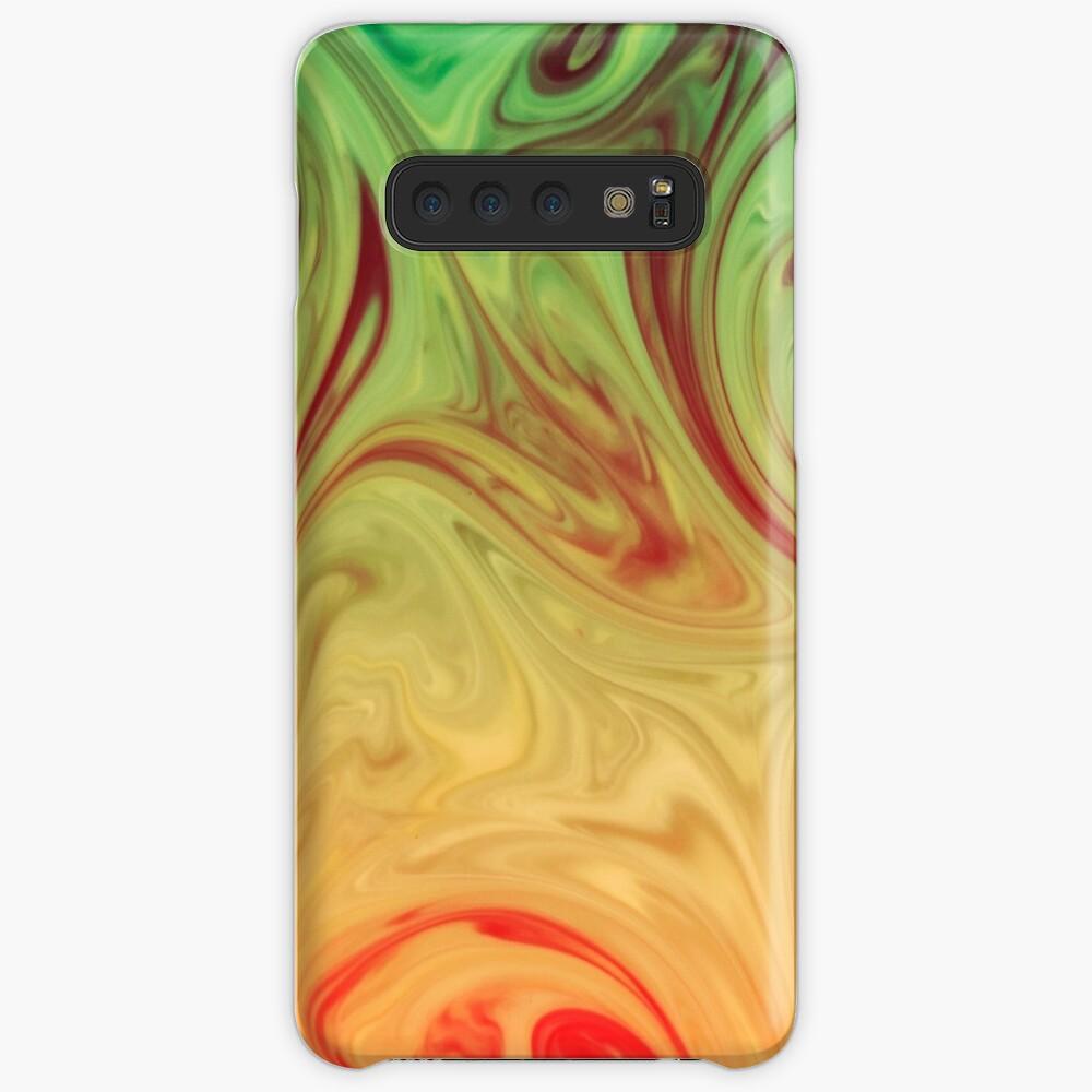 Marmor-Raserei Hülle & Klebefolie für Samsung Galaxy