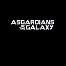 ASGARDians des Galaxie-Parodie-T-Stücks von Corpsecutter