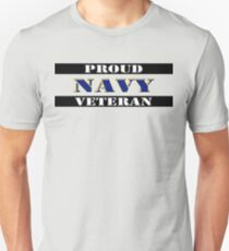 Proud Navy Veteran Unisex T-Shirt