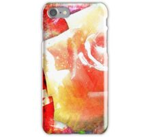 Rose Hard Journal Cover iPhone Case/Skin
