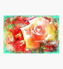 Rose Hard Journal Cover Photographic Print