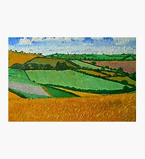 Rural Fields Photographic Print