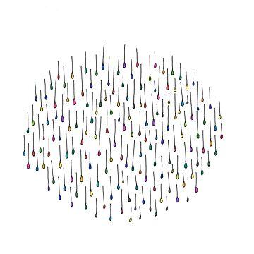 Falling Droplets by ElizabethGPDX