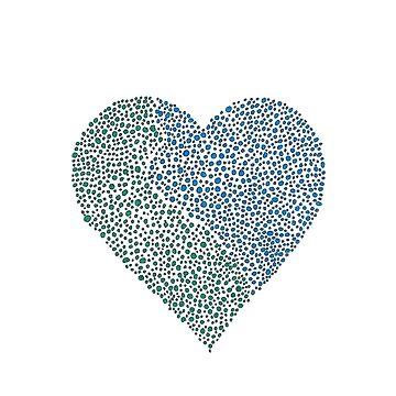 Blue Heart by ElizabethGPDX