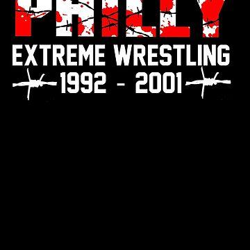 ECW Philly Tribute T - Shirt by DannyDouglas96