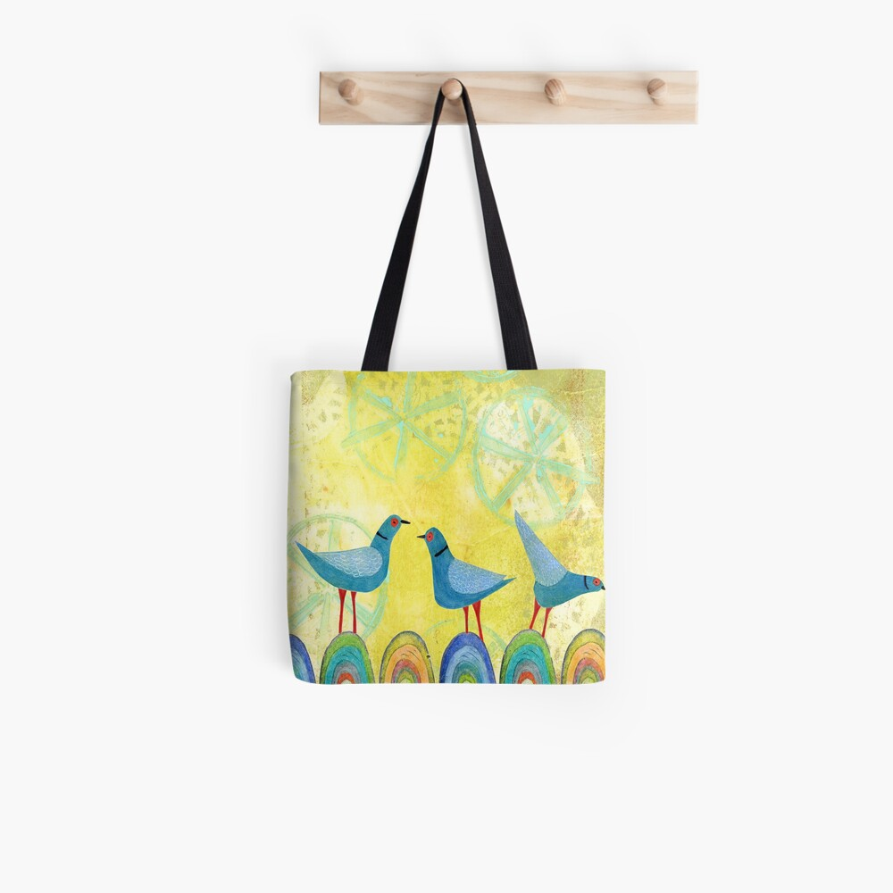 Mountain Birds Tote Bag
