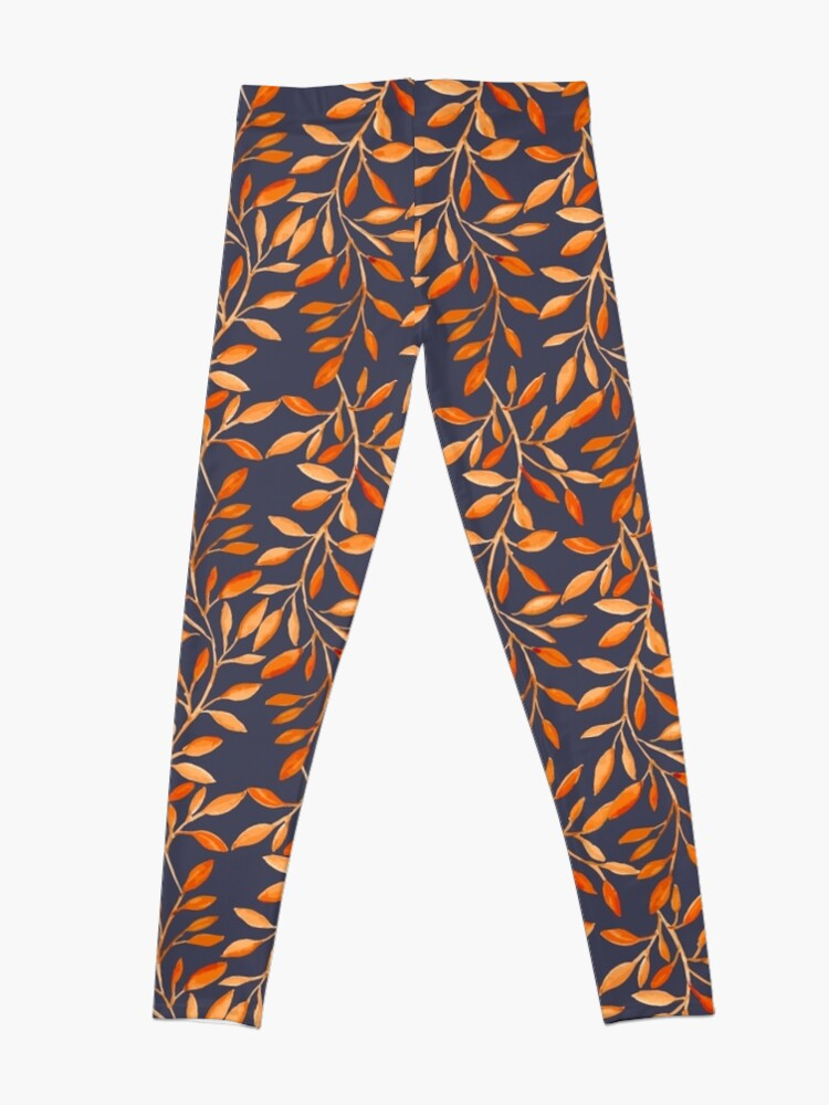 Alternate view of Autumn pattern Leggings