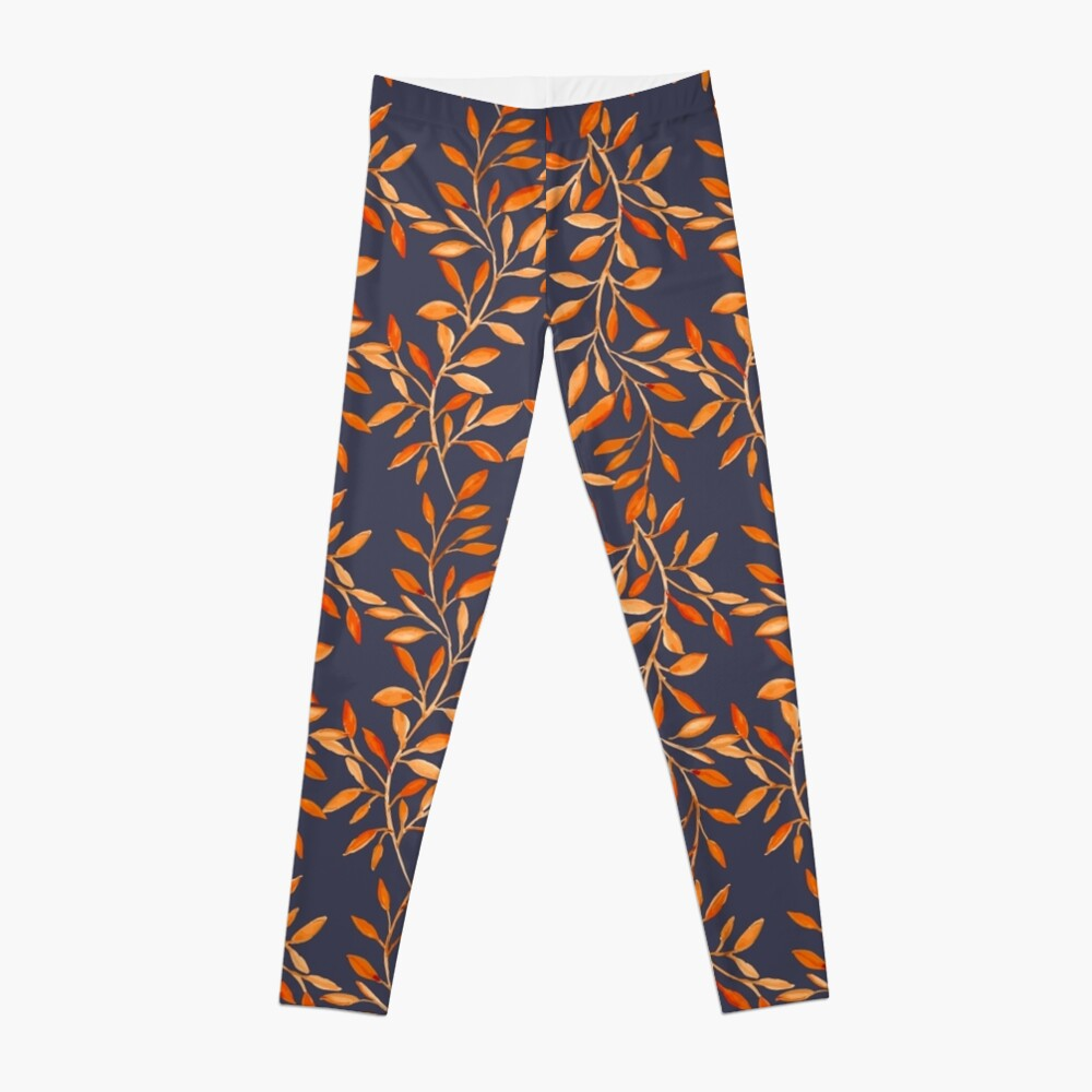 Autumn pattern Leggings