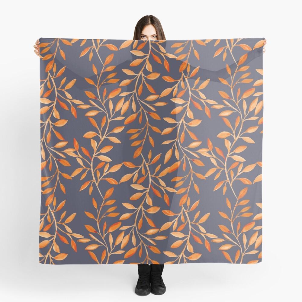 Autumn pattern Scarf